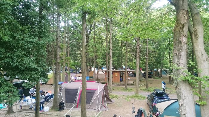 フォンテーヌのオートキャンプ場の写真