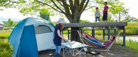 併設されたキャンプ場
