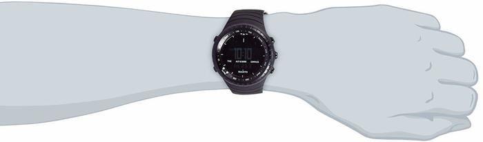 スントの腕時計をする腕