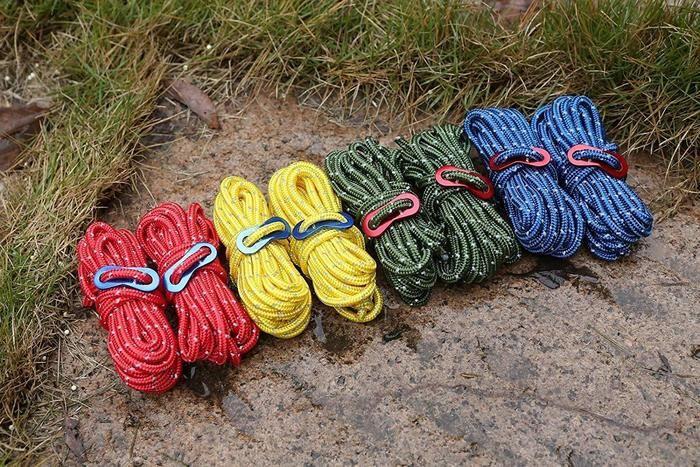 4色のロープ