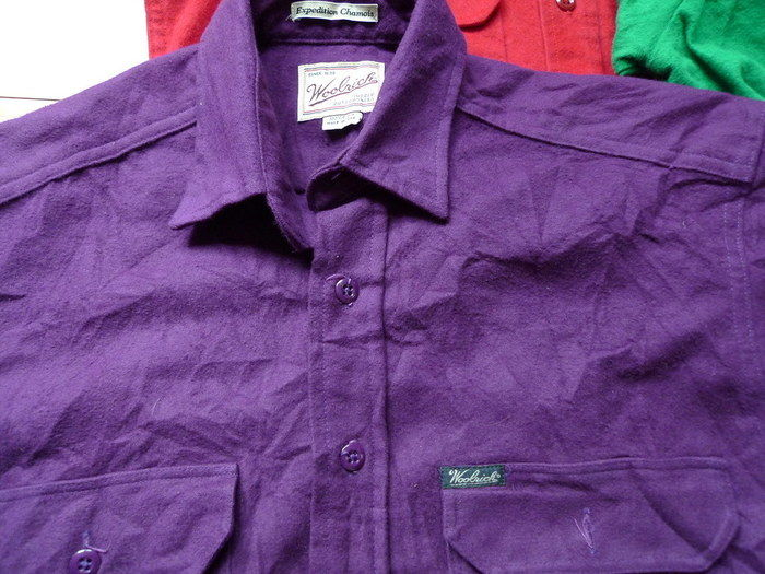 ウールリッチのシャツ