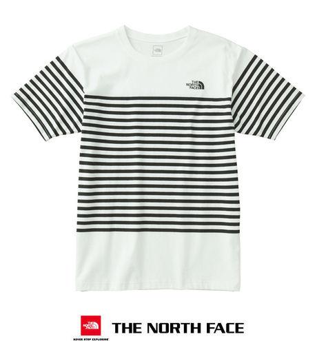 ザ・ノース・フェイスのボーダーT-シャツの画像