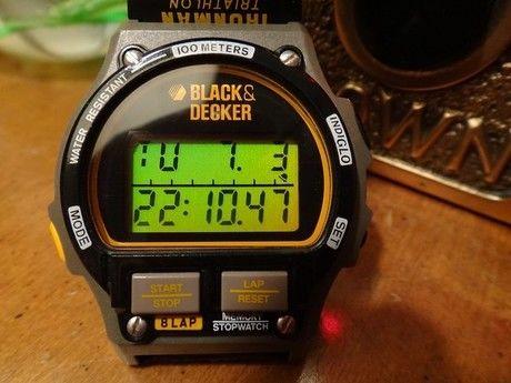 timexの時計の様子