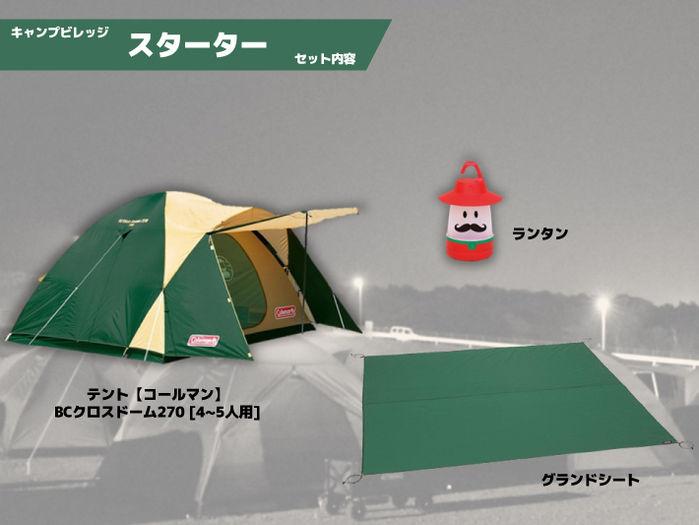 富士スピードウェイのスターターキットの全体像