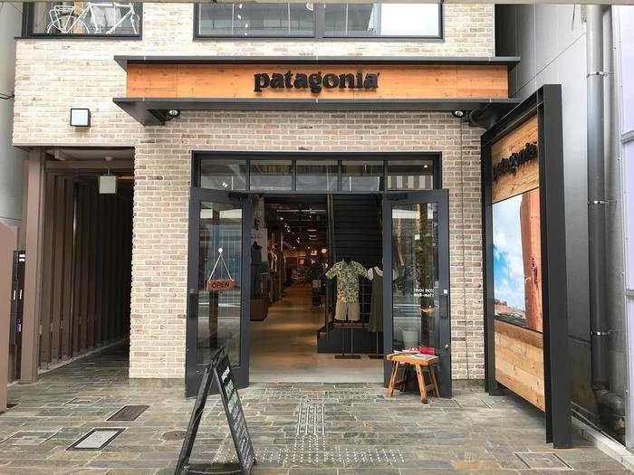 パタゴニア京都店の外観