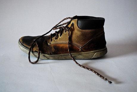 ティンバーランドの靴の画像