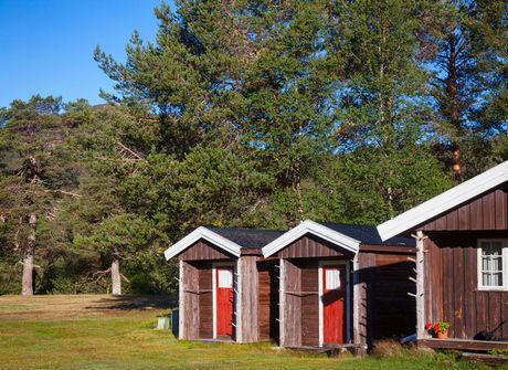 オートキャンプ場マリンビューのコテージの写真