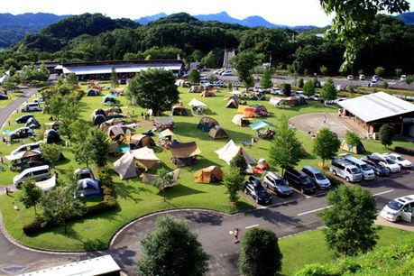 高規格キャンプ場の画像