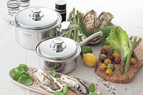 無水鍋と野菜の写真