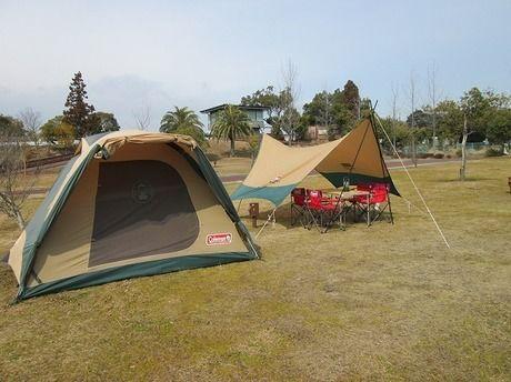 鈴鹿サーキットのキャンプ場
