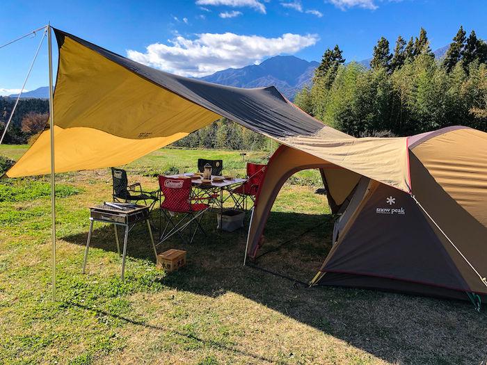 いなかの風のキャンプサイト