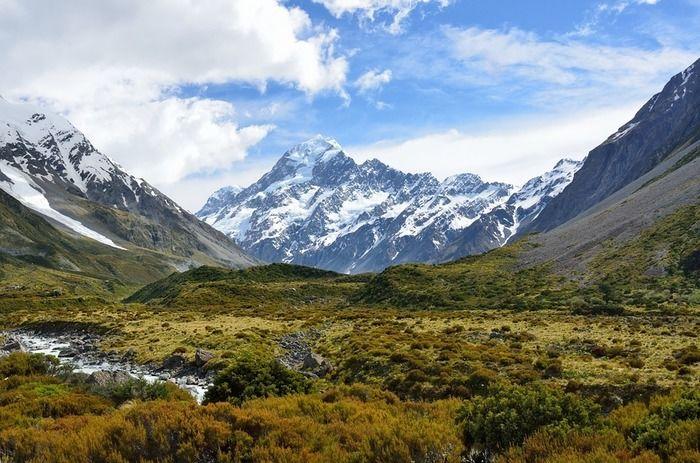 山脈の写真