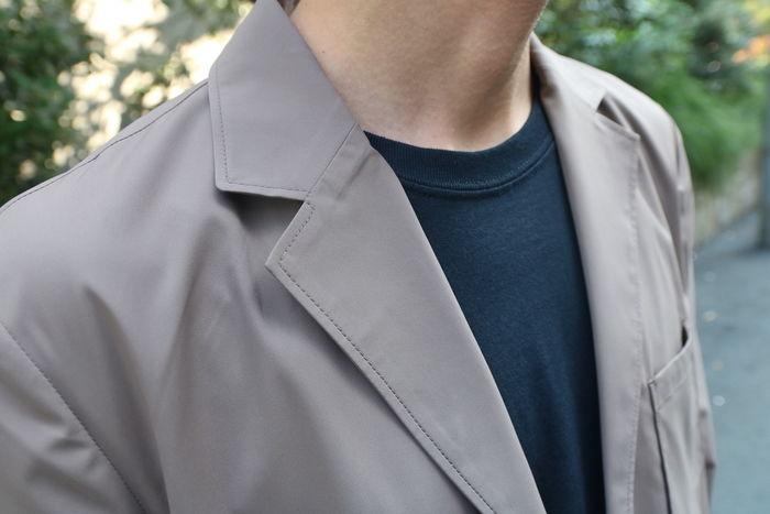 セットアップのジャケットの写真