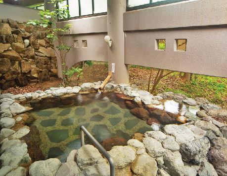 わかさぎ温泉の浴槽
