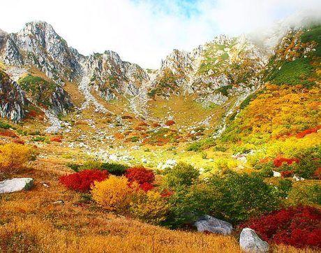 千畳敷カール・中央アルプス駒ヶ岳ロープウェイ