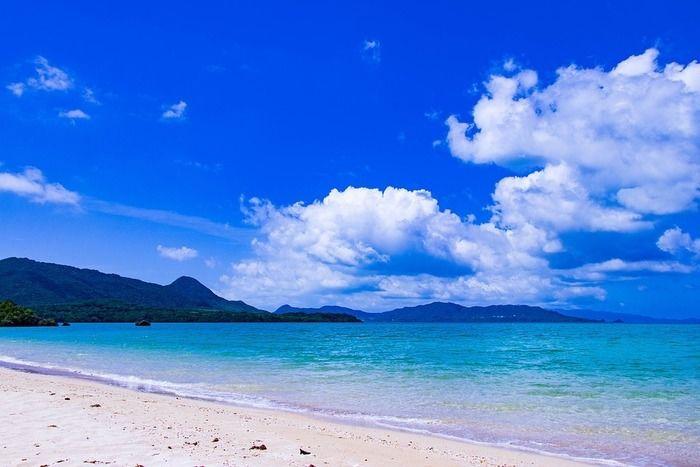 沖縄の海の様子