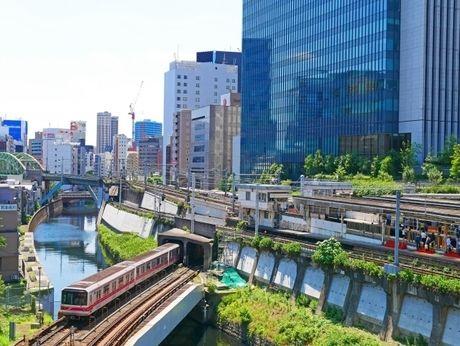 神田川周辺の景色