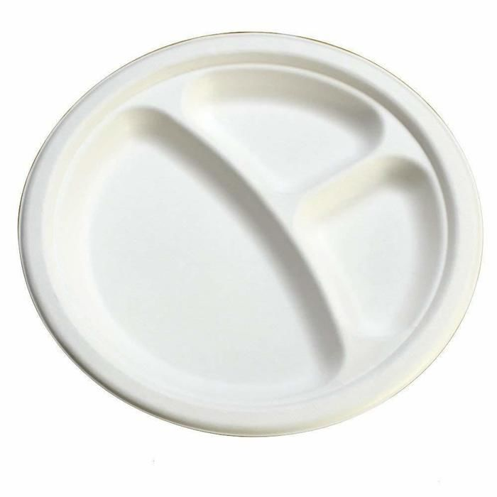 しきりつき紙皿