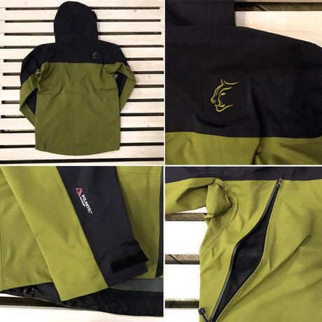 ティートンブロスのジャケットの細部の様子