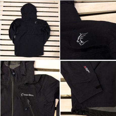 ティートンブロスのジャケットの細部