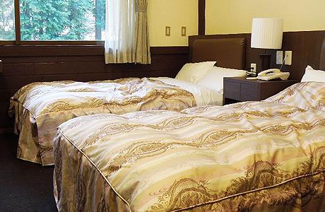キャンプリゾート森のひとときのホテル部屋