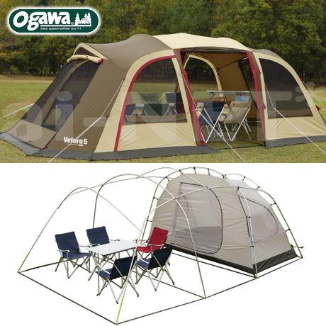 小川ヴェレーロ5 ロッジドーム型テントのイメージ画像