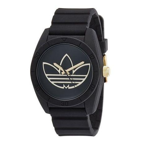 アディダス 腕時計 ブラック&ゴールド