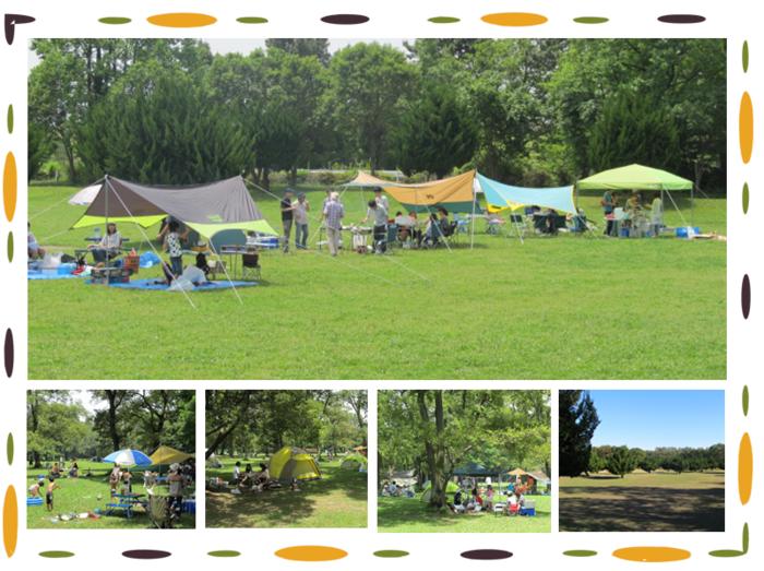 秋ヶ瀬公園のバーベキュー画像