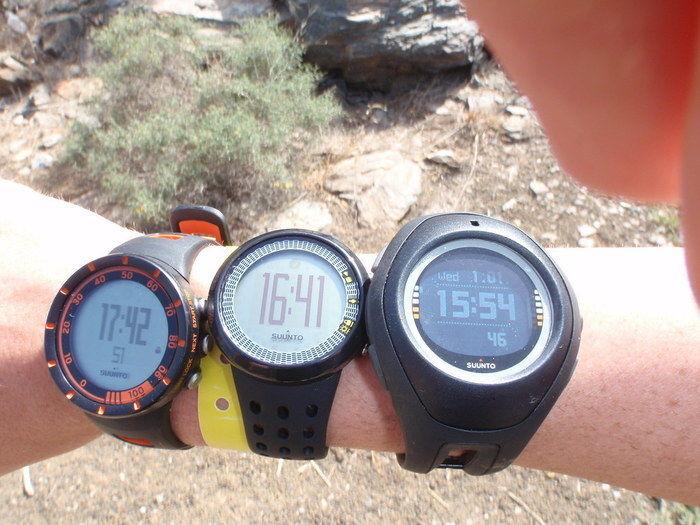 3つの腕時計