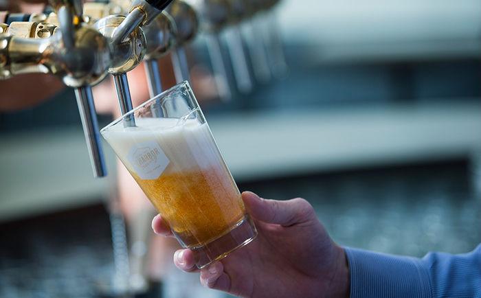 タイニーガーデンフェスティバル2019のフード「ビール」