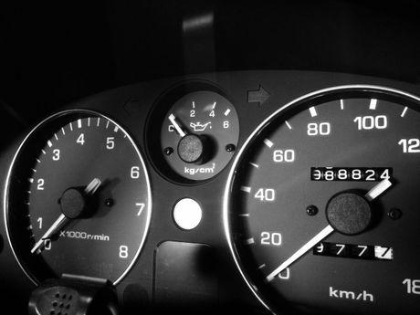 車のメーター