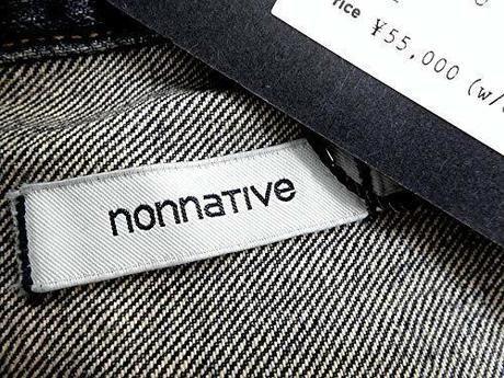 ノンネイティブのジャケットのタグ