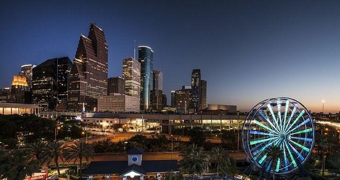 ヒューストンの夜景