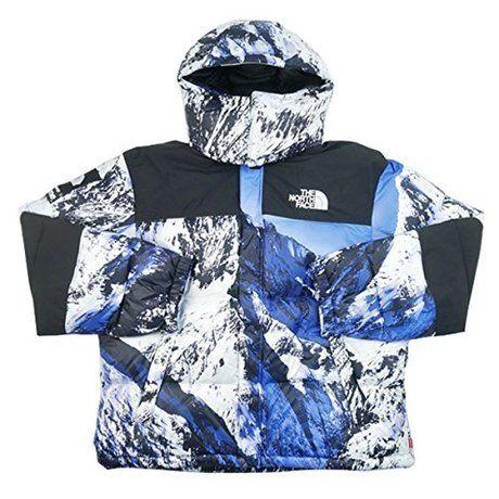 ホワイトブルーのバルトロライトジャケット