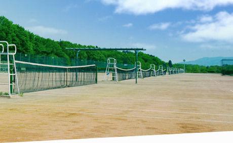 PICA秩父のテニスグラウンドの写真