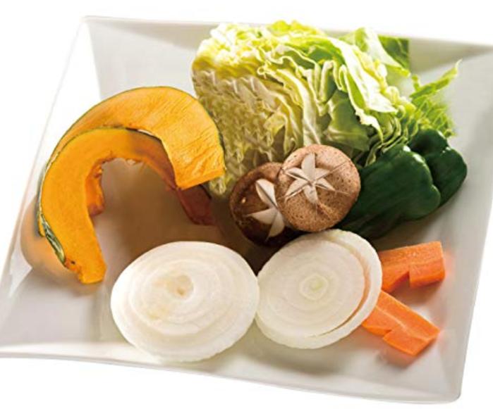 バーベキューの野菜セットの写真