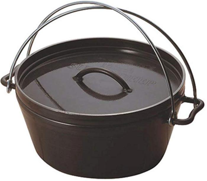 ユニフレーム のダッチオーブンの写真