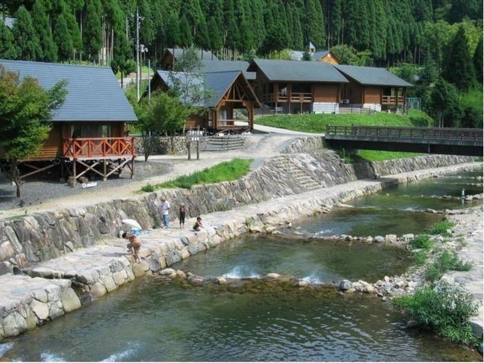 トム・ソーヤー冒険村の川の写真