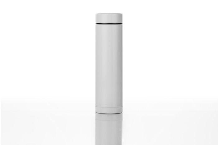 白い水筒の写真