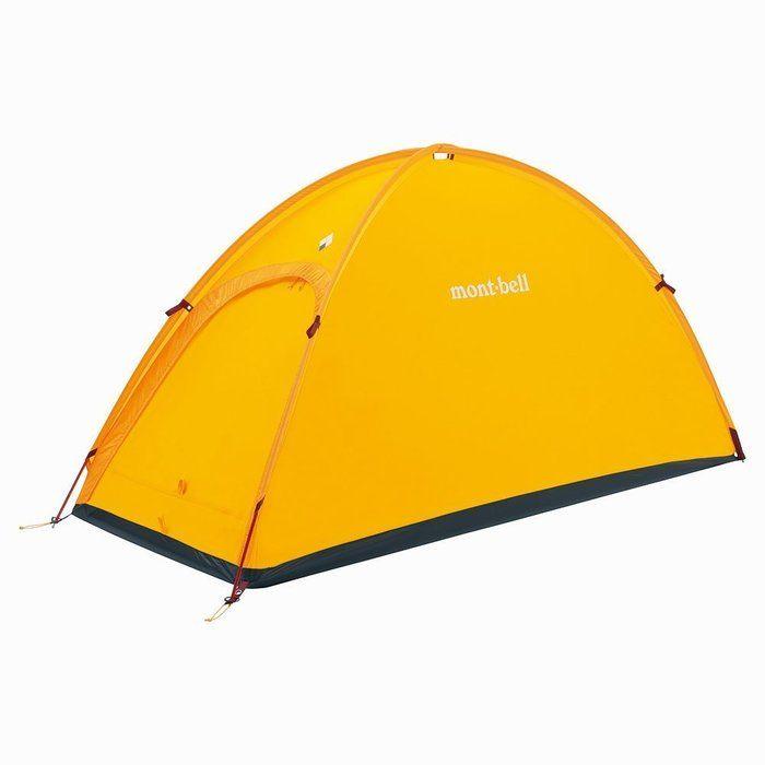 モンベルのゴアテックス素材テントの写真