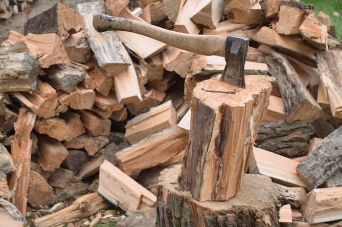 薪割りのイメージ図
