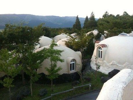 阿蘇ファームランドのドーム型施設