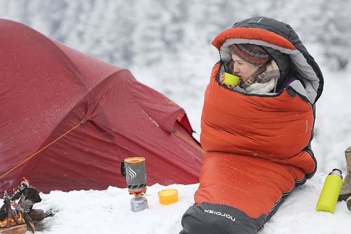 ノルディスクの寝袋
