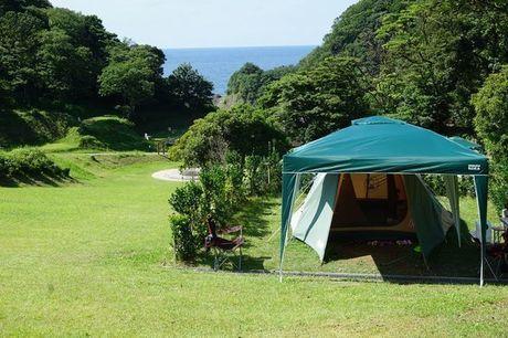 休暇村竹野海岸の手ぶらサイト