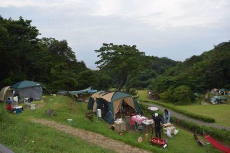 休暇村竹野海岸のフリーサイト