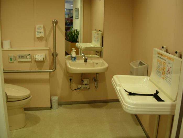 休暇村竹野海岸のトイレ