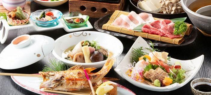 休暇村竹野海岸の夕食
