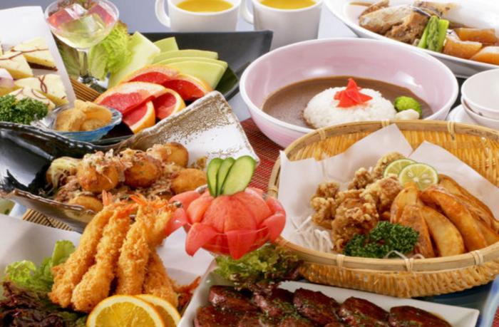 休暇村竹野海岸の昼食