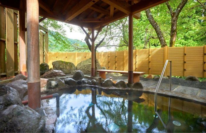 渓流温泉冠荘の温泉