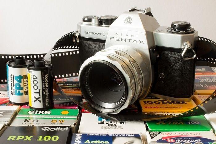 ペンタックスのカメラ
